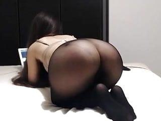 perfect tight sexy ass butt thin transparent leggins tights