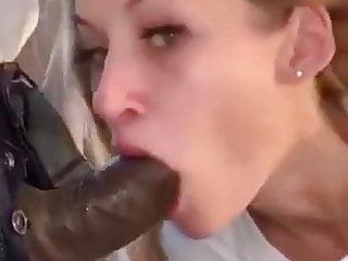 Russian beautiful girl cock sucking