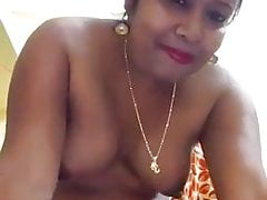 Mature Desi Bhabhi Records Herself for lover
