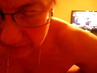 Being fucked as hubby watches