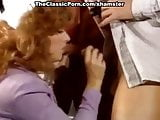Shanna McCullough, Peter North, Tom Byron in cumshot king