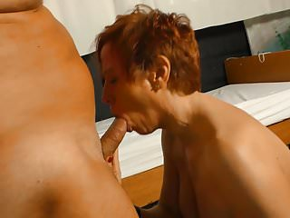 Xxx omas german redhead mature by horny doctor...
