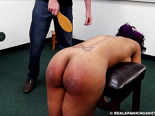 Tube real spanking F/M paddling