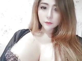 huge boobs asian model