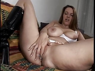 Studed girl has soaking wet pussy from wanking...