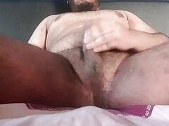Cum on my belly