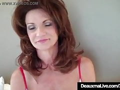 deauxma fucks herself with a dildoPorn Videos