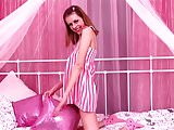Cute redhead will get you erect with the help of her toys