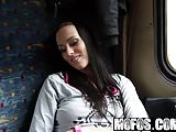 Public Pick Ups - Riding The Rails starring  Mea Melone