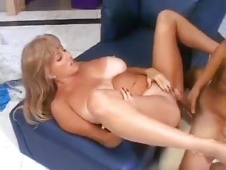 Busty milf with amazing tanlines
