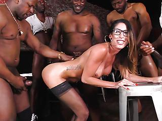 Team BBC Dava Black Gangbang Slut Foxx