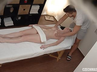 Czech massage stop touching my pussy...