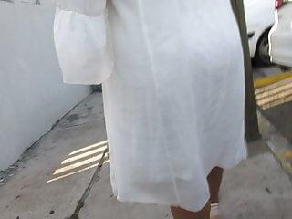 Gilf see thru dress...