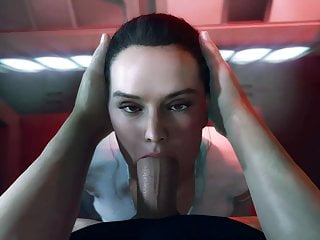 Rey blowjob...