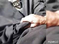 Fingering and trying to fuck myself with my horny cock