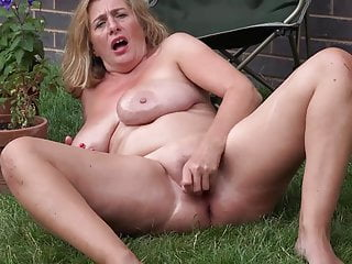 Busty herself and mature mother oils fucks