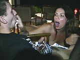 two hot girls - one lucky man on vacation