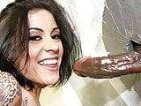 Vanessa Naughty Interracial Sex - Gloryhole