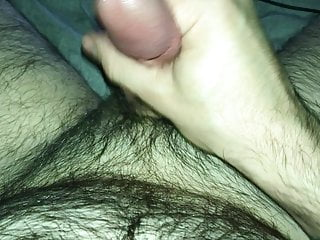 Jerking my hard dick