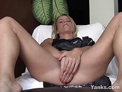 Yanks Skyla's Butt Plug Fun
