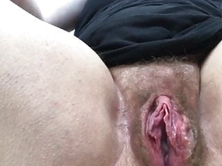 Leela-Chase # Hairy Pussy Close-p Orgasm