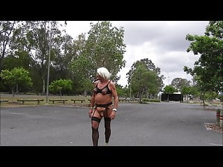 Sissyslutbecky loves to go dogging for all to...