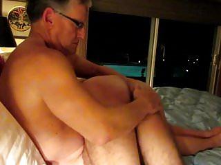 Daddy spanking his friend...