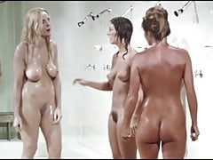 Catfight in the women's prison shower, upscaled to 4K