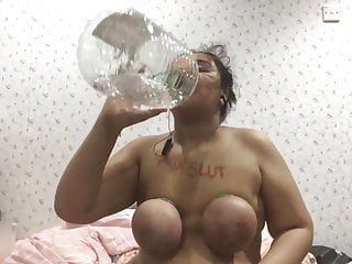 BDSM Slave throat explosions