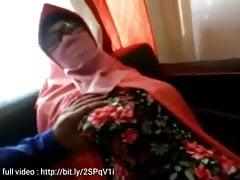 Muslim Couple Having Fun