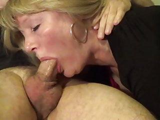 Granny training deepthroat...