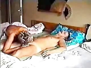 Sexy stockinged milf likes it from behind