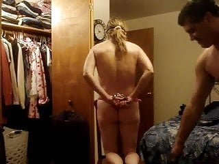 Bubblebuttt spanked in her pink panties