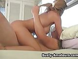 Busty amateur Tera on sweaty sex