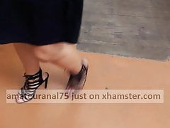 Sexy heels and legs shopping