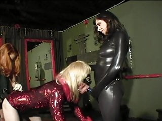 Two bitches with dildo blonde...
