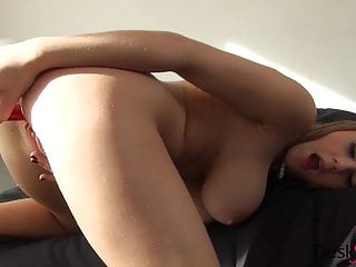 viola bailey fingering and dildoing on black bed