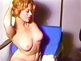 CRIMSON & CLOVER - vintage mature blonde striptease