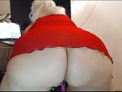 Granny with a big ass