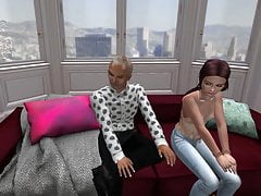 second life - bololo chat's friend (bololo chat 2) Porn Videos