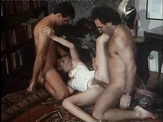 Moana Pozzi realizza DP in La Donna dei sogni 1993