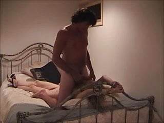 Cuckold wife fucked in handcuffs...