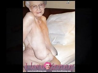 Ilovegranny old woman lady and mature showing her...