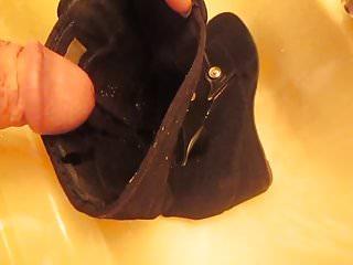 Piss black wedge booties fm mrmessyshoes...