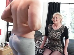 British Old Slut's Cooch Requires A New Big Cock Every Day