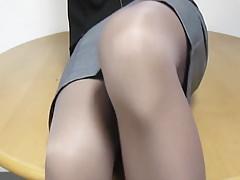 Stockinged babe