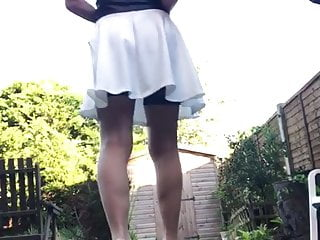 Tan stockings