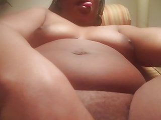 Fingering Big Ass Mature video: Swollen Pussy