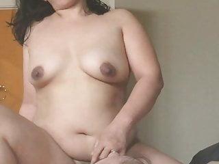 Frontal brown nipples...