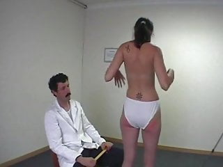 humiliated girl and spanked stripped Innocent doctor by